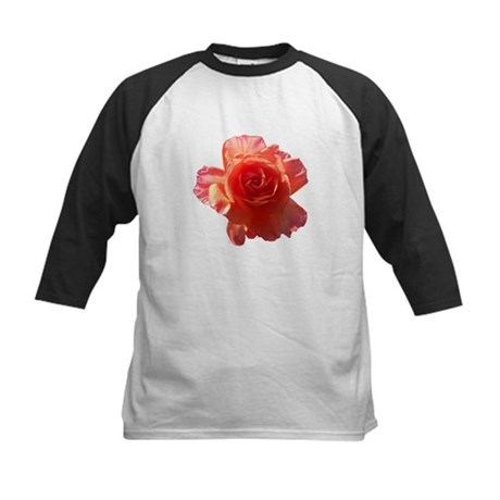 Sky Bloom Kids Baseball Jersey