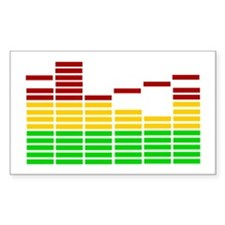 Equalizer Rectangle Decal