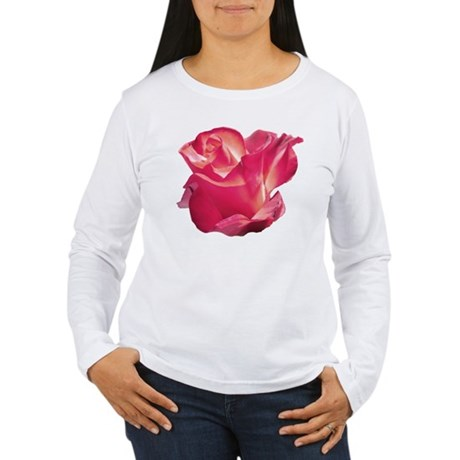 Elegant Rose Women's Long Sleeve T-Shirt