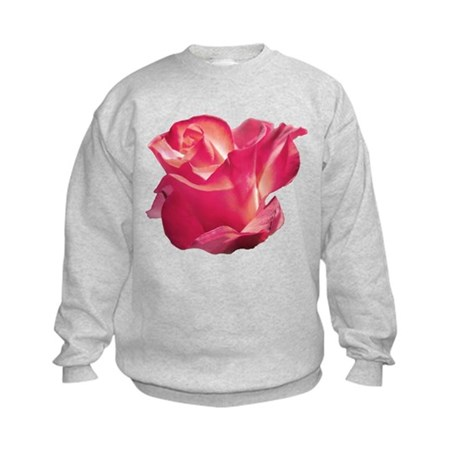 Elegant Rose Kids Sweatshirt