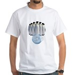 Penguin Bowling White T-Shirt