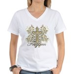 Forgiven Women's V-Neck T-Shirt