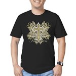 Forgiven Men's Fitted T-Shirt (dark)