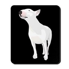 Funny English bull terrier Mousepad