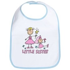 Stick Princess Duo Little Sister Bib