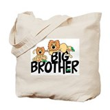 Cute Lions Big Brother Tote Bag