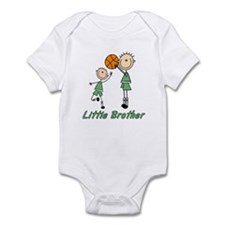 Stick Basketball Little Brother Infant Bodysuit