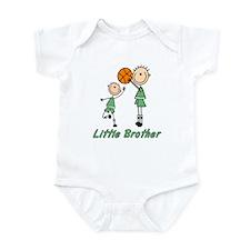 Stick Basketball Little Brother Onesie