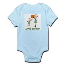 Stick Basketball Little Brother -s Infant Bodysuit