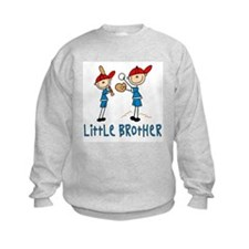 Stick Baseball Little Brother Sweatshirt