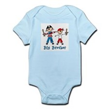 Stick Pirates Big Brother (s) Infant Bodysuit