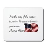 Duty of a Patriot Mousepad