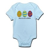 Jesus is Eggsciting! Infant Bodysuit