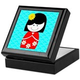 Asian Princess Keepsake Box