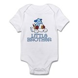 Cute Puppys Little Brother Infant Bodysuit