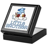 Cute Puppys Little Brother Keepsake Box