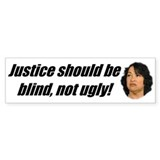 Ugly Justice Bumper Sticker (50 pk)