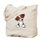 Curious Pocket Brittany Tote Bag