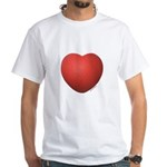 Dodgeball Love White T-Shirt