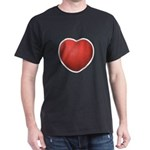 Dodgeball Love Dark T-Shirt
