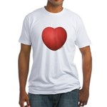 Dodgeball Love Fitted T-Shirt