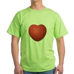 Dodgeball Love Green T-Shirt