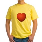 Dodgeball Love Yellow T-Shirt