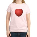 Dodgeball Love Women's Light T-Shirt