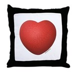 Dodgeball Love Throw Pillow