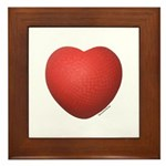 Dodgeball Love Framed Tile