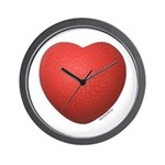 Dodgeball Love Wall Clock
