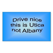 Utica n AB Rectangle Decal