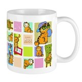 Classic Garfield Squares Mug