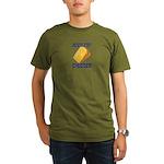 Jews for Cheeses Organic Men's T-Shirt (dark)