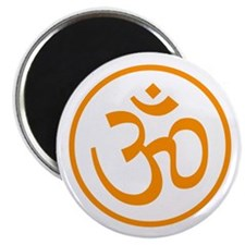 Aum Orange Magnet
