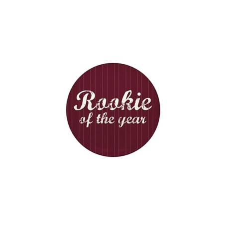 Rookie Of The Year Mini Button (10 pack)