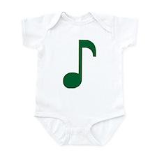 Music Note Infant Bodysuit