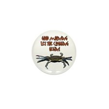Let the Crabbing begin! Mini Button (100 pack)