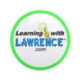 "Learning with Lawrence 3.5"" Button"