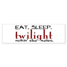 Eat Sleep Twilight Bumper Sticker (10 pk)