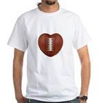 Football Love White T-Shirt