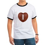 Football Love Ringer T
