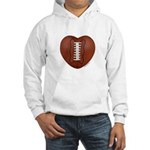 Football Love Hooded Sweatshirt