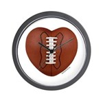 Football Love Wall Clock