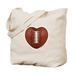 Football Love Tote Bag