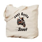 Just Gotta Scoot Blur Tote Bag