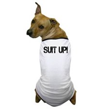 SUIT UP! Dog T-Shirt