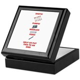 Cure 4 Diabetes Keepsake Box