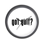 got golf? Wall Clock