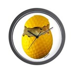 Golf Chick Wall Clock